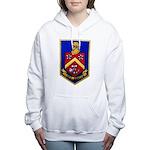 USS DUNCAN Women's Hooded Sweatshirt