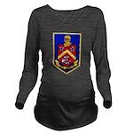 USS DUNCAN Long Sleeve Maternity T-Shirt