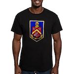 USS DUNCAN Men's Fitted T-Shirt (dark)