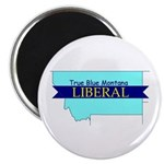 "2.25"" Magnet (10 pack) True Blue Montana LIBERAL"