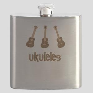 Popular Ukulele Flask