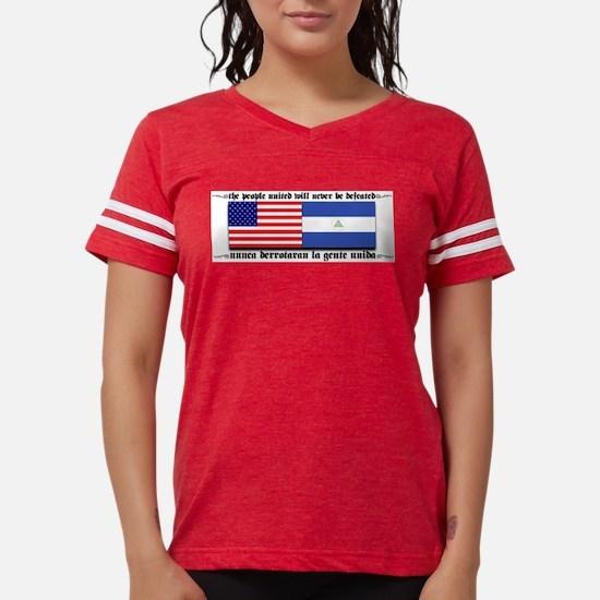 USA - Nicaragua Unite!!! Ash Grey T-Shirt