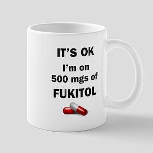 Fukitol 11 oz Ceramic Mug