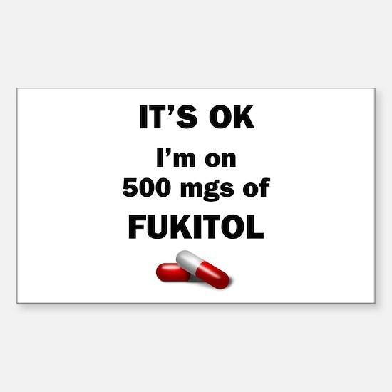 Fukitol Sticker (Rectangle)