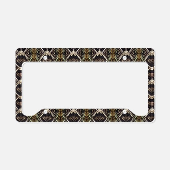 Diamondback Rattlesnake License Plate Holder