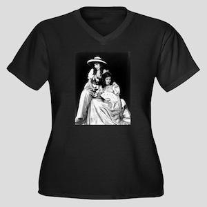 lillian dorothy gish sisters bla Plus Size T-Shirt