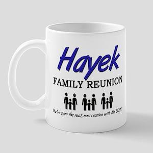Hayek Family Reunion Mug