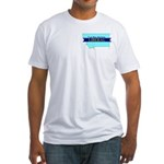 True Blue Montana LIBERAL Fitted T-Shirt