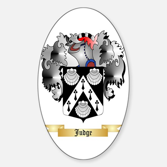 Judge Sticker (Oval)