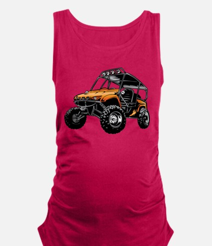 Unique Extreme sports Maternity Tank Top