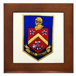 USS DUNCAN Framed Tile