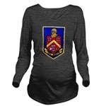 USS DUNCAN Long Sleeve Maternity T-Shirt