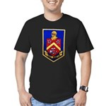 USS DUNCAN Men's Fitted T-Shirt (dark)