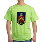 USS DUNCAN Green T-Shirt