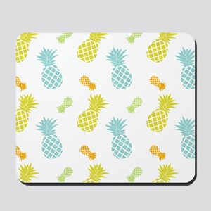 Colorful Pineapples Pattern Mousepad