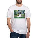 Bridge & Papillon Fitted T-Shirt