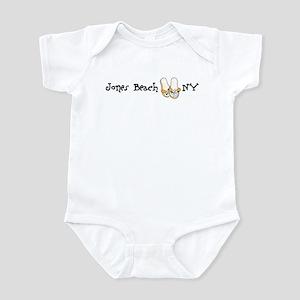 Flip Flops Jones Beach Infant Bodysuit