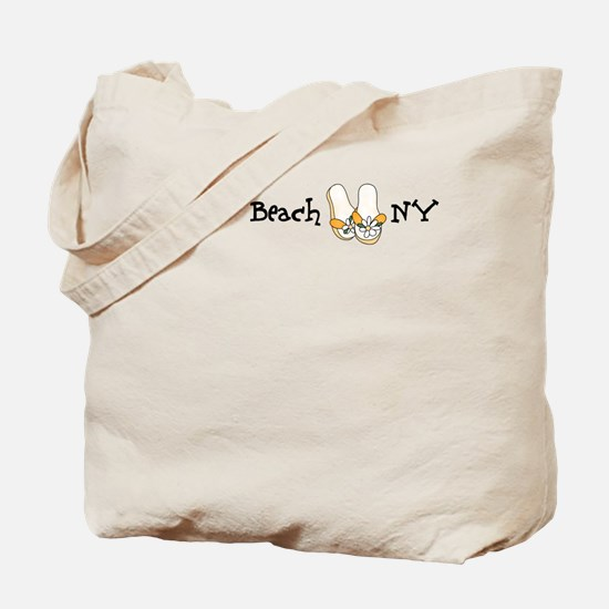 Flip Flops Jones Beach Tote Bag