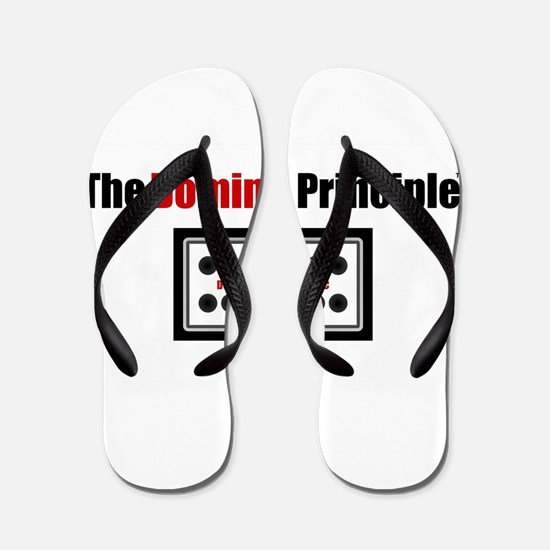 Cute Dominoes Flip Flops
