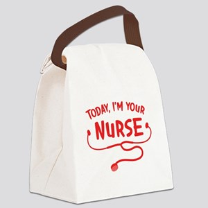 Today, I'm your Nurse Canvas Lunch Bag