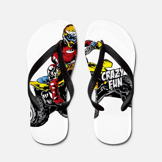 Funny Sports and recreation Flip Flops