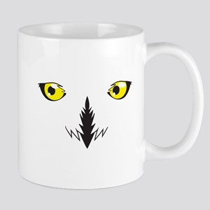 Snowy owl eyes Mugs