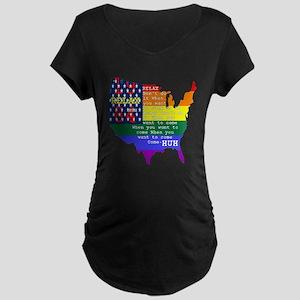RELAX 1984 Maternity Dark T-Shirt