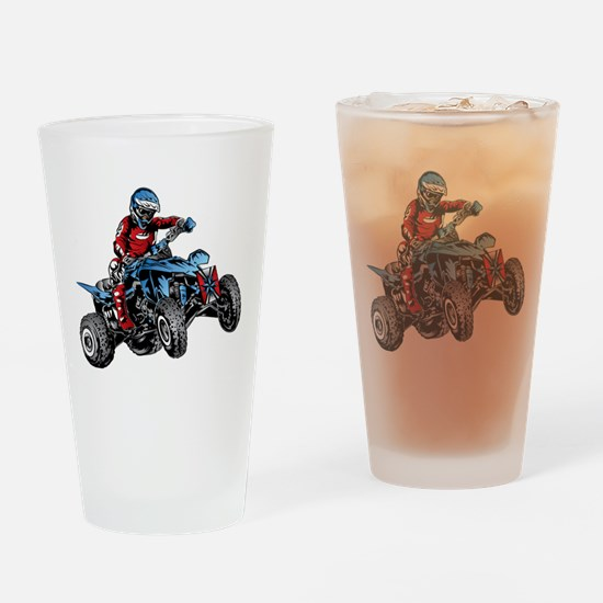 Unique Quads Drinking Glass