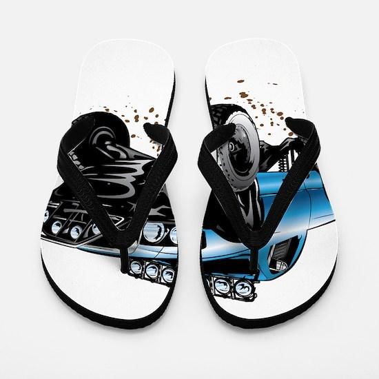 Cool 4x4 Flip Flops