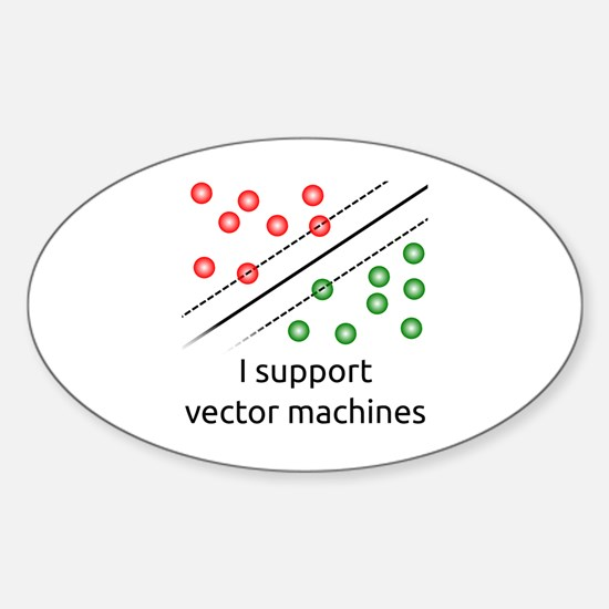 SVMs Sticker (Oval)