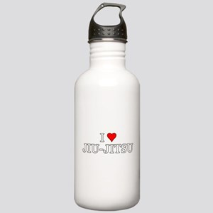 I Love Jiu-Jitsu Stainless Water Bottle 1.0L