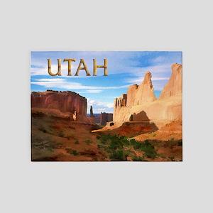 Utah smaller 5'x7'Area Rug