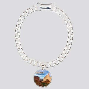 Arches Smaller Charm Bracelet, One Charm