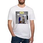 Bird Brain Fitted T-Shirt