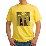 Bird Brain Yellow T-Shirt
