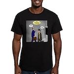 Bird Brain Men's Fitted T-Shirt (dark)