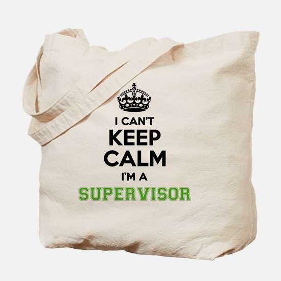 Cute Supervisor Tote Bag