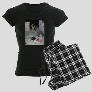 Innocent Siberian Husky Women's Dark Pajamas