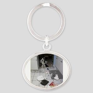 Innocent Siberian Husky Keychains