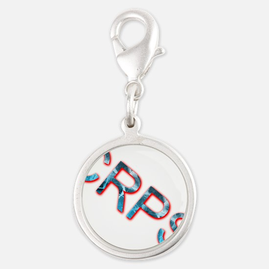 CRPS Blazing Ice Text Charms