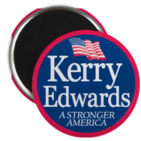 """Kerry Edwards"" Magnet"