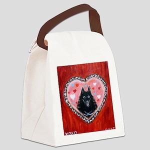 Schipperke Love Canvas Lunch Bag