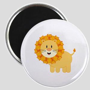 Happy Lion Magnet