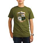 USS EUGENE A. GREENE Organic Men's T-Shirt (dark)