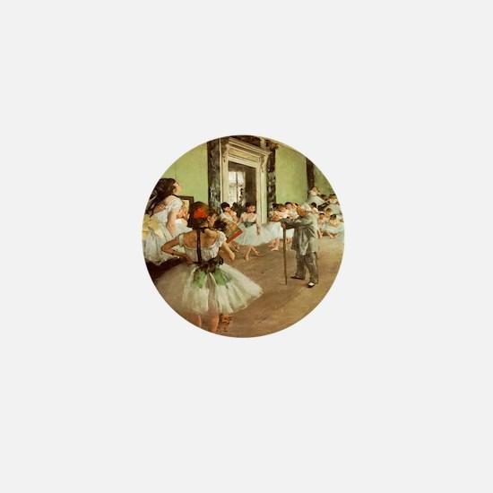 Degas Dance Class Mini Button
