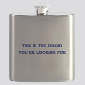 This is the Droid You're Looking For Flask