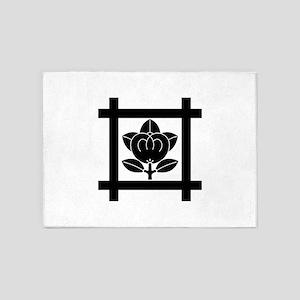 Tachibana of the Nichiren sect 5'x7'Area Rug