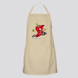 Chilli Pepper Breathing Fire Apron