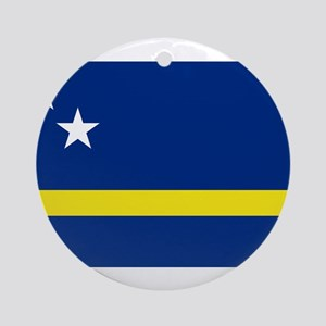 Curacao Flag Ornament (Round)