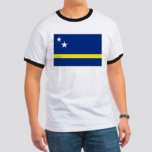 Curacao Flag Ringer T